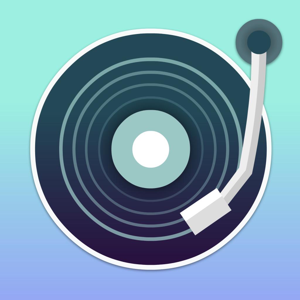 Graphic art logo for DJ website JQBX